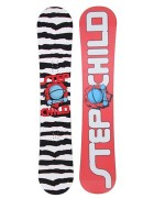 snowboard Stepchild LATCHKEY red/black
