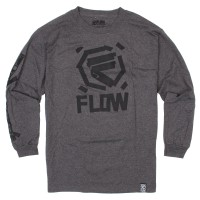 triko Flow Taped Ls charcoal heather